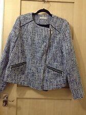 Navy & White Smart Jacket/coat