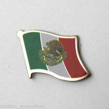 MEXICO NATIONAL COUNTRY WORLD SINGLE FLAG LAPEL PIN BADGE 1 INCH
