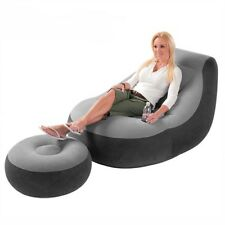 Inflatable Large Gaming Chair Adult Bean Bag Indoor Outdoor Gamer Ultra Lounge