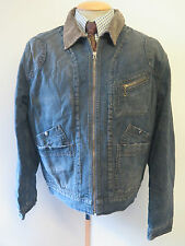 "POLO Ralph Lauren Zipped Harrington Denim Jacket 42-44"" Euro 52-54 - Blue"
