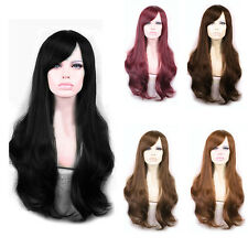 65cm Sexy Lady's Long Curly Wavy Wigs Fluffy Synthetic Cosplay Women Hair Wigs