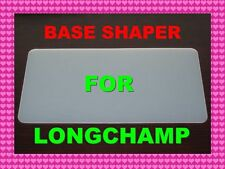 White Base shaper 4 Longchamp Le Pliage Short Handle S