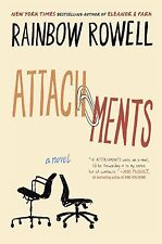 Attachments: A Novel by Rainbow Rowell (Paperback) FREE SHIPPING NEW