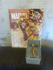 CLASSIC MARVEL FIGURINE COLLECTION 141 PYRO FIGURE BOXED WITH MAG