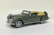 HO Oxford Diecast #41003 Lincoln Continental '41 Convertible -Pewter - w/case