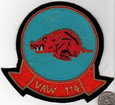 Quality Fighter Wing Squadron Patch Navy Marine Corps VAW 114 Razorback Hog Boar