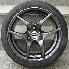 Rimstock Eagle anthrazit grau Winterräder Winterreifen Hankook smart fortwo 451