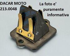 213.0048 VALVOLA LAMELLARE POLINI PIAGGIO ZIP 50 SP H2O mod.2000