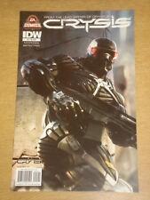 CRYSIS #5 RI COVER 2011 EA COMICS IDW MAREK OKON
