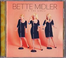 It's The Girls! By Bette Midler Cd 2014 Darlene Love Warner Brothers Records