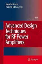 Advanced Design Techniques for RF Power Amplifiers (Analog Circuits an-ExLibrary
