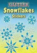 Dover Little Activity Books Stickers: Glitter Snowflakes Stickers by Christy...