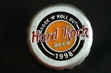 HRC Hard Rock Cafe Online Staff Beer Pin 1998 XL Fotos