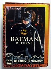 COMPLETE SET OF 88 TRADING CARDS BATMAN RETURNS 1992 DC MINT (29)