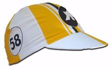 ASSOS Cycling Cap Canary Yellow Summer Made In Italy 100% Cotton