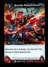 Haratha Hammerflame #111 Warcraft Twilight Of The Dragon WoW TCG Card (C312)
