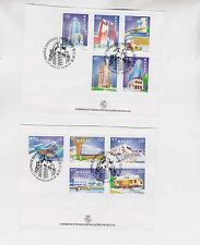 macao 1999 buildings,set on paper,FD cancel     g1647