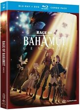 Rage Of Bahamut: Genesis - Season One (2016, Blu-ray NEUF)4 DISC SET