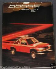 1991 Dodge Truck Brochure Folder Ram Pickup Dakota Sport Ram 50 Ramcharger 91