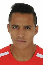 Football Photo ALEXIS SANCHEZ Arsenal 2014-15