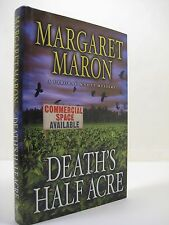 Death's Half Acre by Margaret Maron (2008, Hardcover) 1st Printing