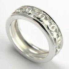 14k Solid White Gold Celtic Knot Band Ring  Ring Sizes 6 to 9.5 #R1314
