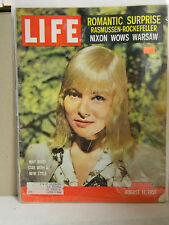 Vintage LIFE Magazine August 17, 1959 May Britt Cover Very Good