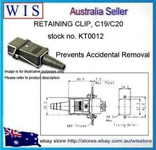 BULGIN-Retaining Clip KT0012,Prevents Accidental Removal,IEC Connector-KT0012