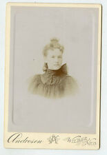 Cabinet Photo - Young Lady-Hair Cimb - Wilber, Nebraska - Andresen Studio