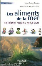 """Livre Santé """" Les Aliments de la Mer """" J.C Secondé  ( No 1633 ) Book"""
