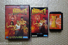 "Bare Knukle II Street of Rage 2 ""Very Good Condition"" Sega Megadrive Japan"