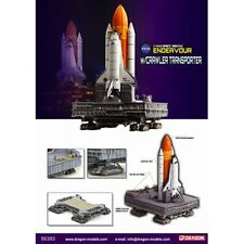 Dragon 56393 SPACE SHUTTLE Endeavour razzi & trasporto Crawler scala 1:400th