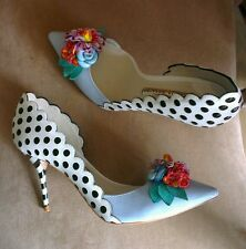 £540 Sophia Webster Mika sold out floral heels courts 38.5 UK 5.5 brand new