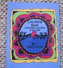 NEW Adult Coloring Book FOR  FLOWER CHILDREN Of All Ages Hippie Fav