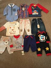 Baby Boys Winter 0-3 Months Clothing Bundle Outfits Shirts Jeans Tops Jumper Jog