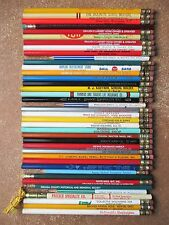 Lot 39 Vintage (1940s-60s) Pencils Advertising State of Ohio Wooden Lead