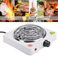 Portable Electric Stove Burner Hot Plate Heater Space Saving  1000W  White