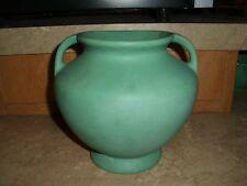 Vintage Roseville Pottery Early Matt Green Classical Urn Shape Vase