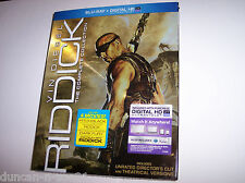 Riddick: The Complete Collection w/Slipcover, Blu-ray 2014, 3-Disc Set, Unrated