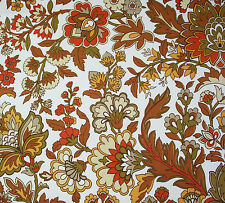 vintage 1970s Wardle Fabrics 'Nicole' William Morris floral print cotton fabric