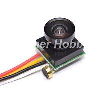 600TVL 170 degree color video mini camera with mic audio for mini quadcopter