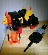 Razorclaw Predaking METAL VERSION W/ BLASTER & HEAD 1986 G1 Transformers VINTAGE
