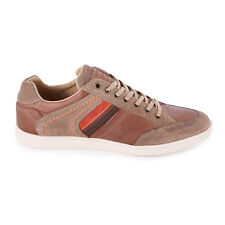 Mustang 4855302 Mens Trainers Brown New Shoes Size 45 EU