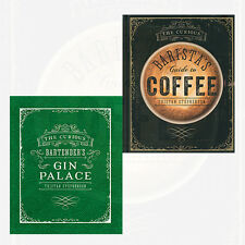 Curious Baristas 2 Books Collection By Tristan Stephenson Set NEW Guide to Coffe