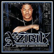 Weapons of Mass Destruction Xzibit MUSIC CD