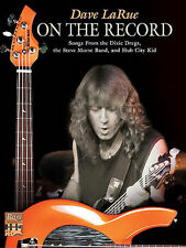 DAVE LARUE ON THE RECORD BASS GUITAR TAB SONG BOOK  NEW