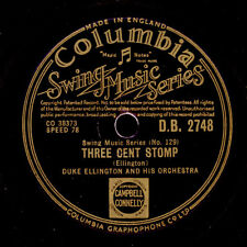 DUKE ELLINGTON &  HIS ORCHESTRA Three Cent Stomp / New York City Blues    X1803