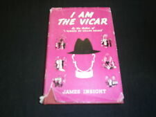 I AM THE VICAR JAMES INSIGHT 1958 HARDBACK WITH DUST JACKET