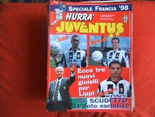 HURRA JUVENTUS=N°6 1998=JUVENTUS-REAL MADRID FINALE CHAMPIONS LEAGUE=FRANCIA '98
