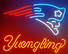 "New Yuengling New England Patroits Neon Light Sign 18""x14"""